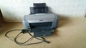 Printer also prints photos