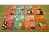 Set of 8 Fame School books by Cindy Jefferies