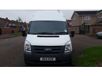 Van with man removels service in leicester