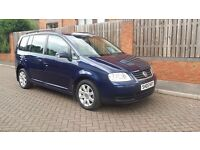 VW Touran 1.9 TDI SE 105 BHP, 7 Seater, Diesel, 2005/05, 5dr, Manual, 4 Owners Just Serviced & MOT'd