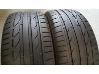 225 45 17 2 x tyres Bridgestone Turanza S001 RUN FLAT RSC