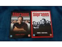 The Sopranos s1&2 boxsets DVD - Open to offers