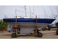 CONTESSA 32 totally refitted , gorgeous , £49500