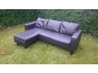Corner sofa ( free delivery )