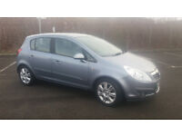 2007 VAUXHALL CORSA 1.4 DESIGN MET GREY,5 DR,VERY LOW MILES,CLEAN CAR,GREAT VALUE
