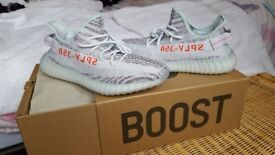 Adidas Yeezy Boost 350 V2 Blue Tint B37571 Size 7