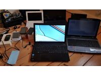 6 x laptops and 4 x mobile phones