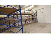 Lot Pallet racking / shelving / storage 3.20m high