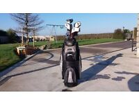 MD Golf SEVE Clubs.