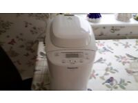 Bread maker panasonic very good condition, little used
