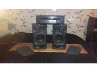 Technics speakers+Sony Amplifier