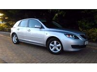 Reliable Mazda 3 Katano 1.6 Service history Full Mechanical Guarantee Size of Ford Focus VW Golf