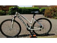 Carrera Crossfire - Ladies Hybrid Bike £130