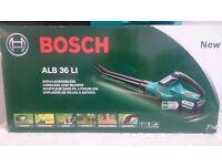 "BOSCH ALB 36 LI , 36v lithium ion cordless leaf blower ""BRAND NEW BOXED""body"