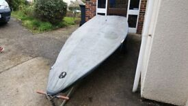 Sailing Dinghy Laser really tidy boat suitable for fun or racing