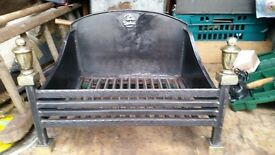 Vintage Cast Iron Fire. Very Heavy
