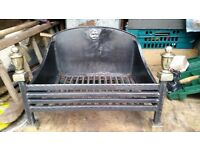 Vintage Cast Iron Fire. Very Heavy