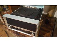 Philips OTT2000 Vinyl Record Player - FM Radio - Bluetooth - CD - MP3
