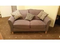 Grey 2 seater DFS Sofa