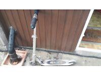 Micro scooter silver sprite