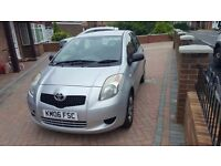 TOYOTA YARIS 06 PLATE LONG MOT 2 PREVIOUS OWNERS BEST CAR FOR NEW DRIVER