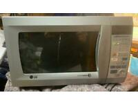 LG Microwave Oven in Silver LG MS1942ES