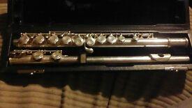 Trevor j james flute,silver