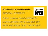 **OPENING OFFERS**New Letting Agent **OPENING OFFERS**
