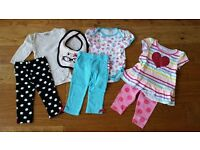 Baby Girl Clothes Bundle - Sizes 6-12 months (incl. 6-9m, 9-12m and 6-12m)