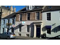 3 room street level office in Central Cupar with parking
