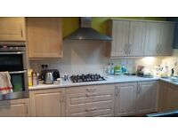 Moores Pear Shaker Style Kitchen & Integrated Appliances. Good condition.