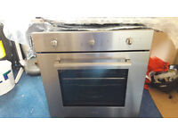 SMEG STAINLESS STEEL INTEGRATED FAN OVEN £150- PO8 COLLECTION