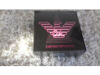 Brand new in box, women's Armani Diamonds duo set