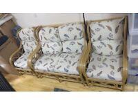 Daro Cane Westland Suite - conservatory furniture set