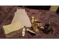 Job lot womans clothes shoes bags for carboot/jumble sale