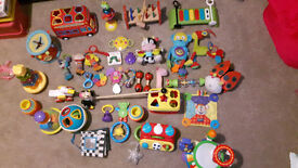 Job Lot Baby Toys 0 - 2 years