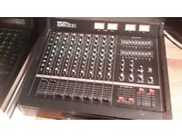 Yamaha mixing desk with built-in amplifier - EMX200
