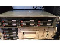 Server DL380 G3 + Compaq ProLiant 180R +6 tapes £150 ONO