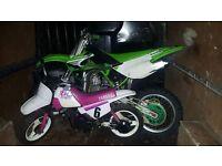 Yamaha pw 50 pink