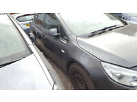 ASTRA MK 6 / J DRIVERS FRONT DOOR IN GREY 2012 BREAKING
