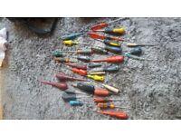 34 joblot of screwdrivers