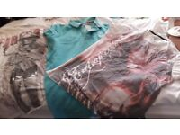 Mens superdry and firetrap t shirts
