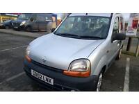 Renault Kangoo 1400cc 2002 only 77K 12 months MOT £550