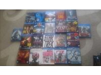 DVDS INCLUDING BLUE RAYS