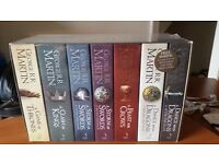 Game of Thrones Sealed Book set with Map!