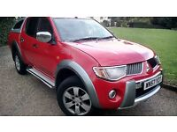 2007 Mitsubishi L200 2.5 DI-D Diamond Double Cab Pickup 4WD 4dr Automatic