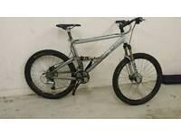 Gary fisher (trek)full suspension mountain bike