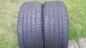 Tyers 2× 225 50 17 Continental
