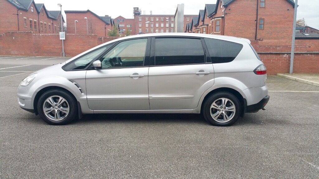 ford s max 2007 tdci 6 gear diesel 7 seater low mileage 75000 good condition in bolton. Black Bedroom Furniture Sets. Home Design Ideas