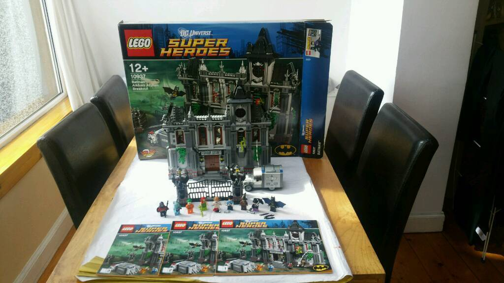 Lego 10937 Arkham Asylum Set In Corstorphine Edinburgh Gumtree
